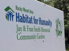 Habitat plans to differentiate between two Rocky Mount vegetable gardens