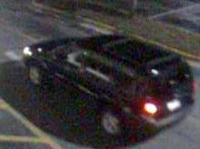 Raleigh police are looking for this dark-colored SUV in connection with a report of an attempted rape that happened in the early hours of June 18, 2012.