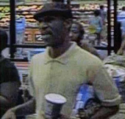 Durham police on Monday released a picture of a man they say robbed a Wal-Mart store at 1010 Martin Luther King Jr. Parkway around 9 p.m. on July 13.