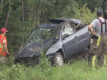 One person died in a crash on Interstate 95 North in Four Oaks on Wednesday morning, Aug. 1, 2012, according to the Johnston County Sheriff's Office.