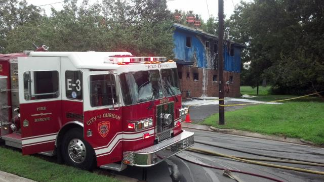An administrative office for the John Avery Boys and Girls Club in Durham caught fire Sunday morning, authorities said.