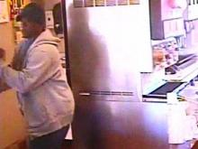 Fayetteville police are searching for this armed man who walked into a Taco Bell on Wednesday morning, Oct. 10, 2012, and stole an undisclosed amount of cash.