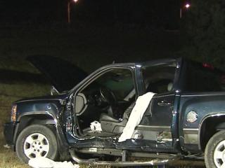 Two people died in a wreck between a motorcycle and pickup truck on Buffalo Road, near U.S. Highway 70, in Smithfield around 7:20 p.m. Sunday, Oct. 21, 2012.