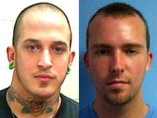 Brian Keith Whitfield (left) and Caleb Shaddie Wyland