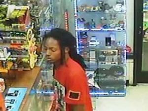 Fayetteville police are looking for this man in connection with the Nov. 2 robbery of a store on Village Drive.