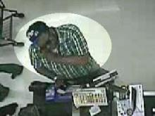 Fayetteville police said this man passed a bad check at Wal-Mart.