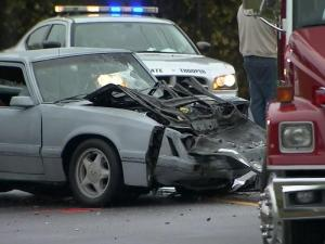 A Mustang driver was killed Tuesday afternoon when he crossed the center line and struck a Chevrolet Suburban on N.C. Highway 96 near Old Pearce Road in Wake Forest, authorities said.