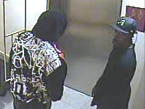 Durham police are searching for these men, captured on security video, during an armed robbery at the Sleep Inn.