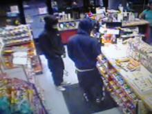 Fayetteville police are looking for two men who robbed the Sunoco Major Mart, at 6295 Yadkin Road, on Nov. 24.