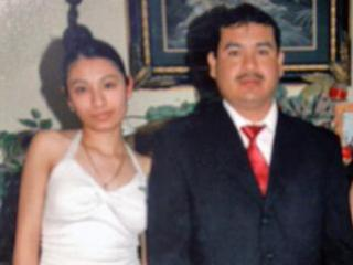 Itzel Vasquez and her father, Carlos Vasquez, in an undated photo. (Photo courtesy of the Vasquez family)