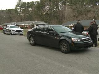 Two people died in a shooting early Saturday at 708 Colonial Drive, in a part of Wake county near Garner.