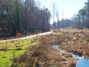 The Higgins Greenway completes 67 miles of trails in Cary. Photo courtesy of the Town of Cary.