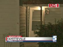 Man surrenders after five-hour standoff in Fayetteville