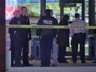 A man was killed late Wednesday in a shooting outside the Town-N-Country convenience store in the 3100 block of University Drive, Durham police said.