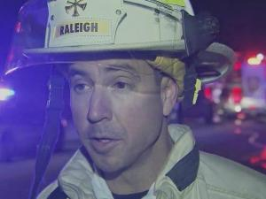 Raleigh Fire Department Division Chief Ronny Mizell