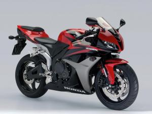 A motorcyle like this Honda CBR 600RR was stolen Wednesday from the parking lot of an apartment complex in Clayton.