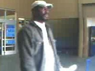 Kinston police are searching for this man, seen on security video leaving Walmart.