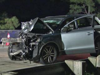 A 22-year-old man was charged with driving while impaired and reckless driving early Wednesday in a three-car wreck on Interstate 40 near Garner, according to the North Carolina State Highway Patrol.