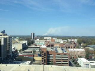 A viewer submitted this photo taken from the Red Hat tower.