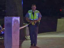 A 55-year-old Raleigh man died late Tuesday after being hit by a bus near North Carolina State University, police said.