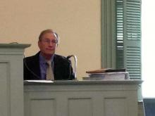 Dr. John Butts, former chief medical examiner