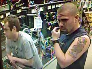 Raleigh police are seeking the public's help to identify two men wanted in connection with the April 15 robbery of the Lowe's Home Improvement store on Capital Boulevard.