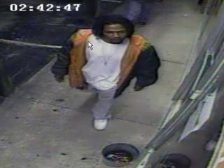 Fayetteville police are looking for the man in this surveillance image taken at Desires, at 3909 Bragg Blvd. on May 8, 2013.