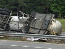 Man killed in truck crash