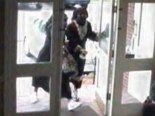 Surveillance images from Vantage South Bank, at 1005 High House Road, on June 3, 2013.