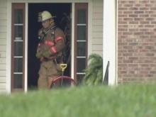 Storms may have sparked home fire