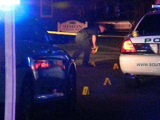 One person was killed Saturday night in a shooting on South Hardin Street in Southern Pines, police said. Photo by Billy Marts