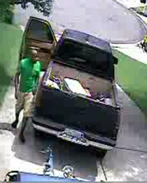 On May 23, a large $4,000 pig cooker was stolen from the driveway of a home off Mineral Springs Road. The thief was driving a black Chevrolet Silverado truck.