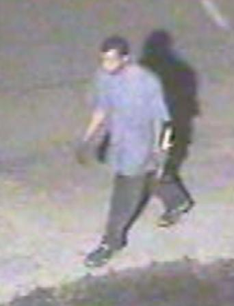 Raleigh police are trying to identify the man in this photo, taken by a surveillance camera at Johnson Lexus, 6001 Capital Blvd., just before midnight Thursday, July 25, 2013.