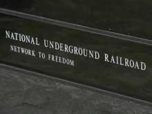 Underground Railroad monument on Hatteras Island