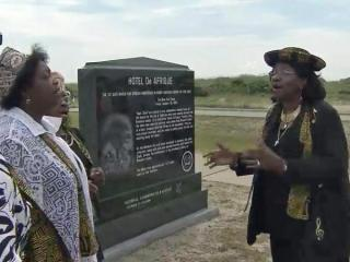 A monument was dedicated Wednesday at the Graveyard of the Atlantic Museum in Hatteras to the Hotel De Afrique. The site is considered the first safe haven for runaway slaves in North Carolina.