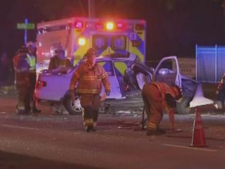 A white sedan and PT Cruiser crashed Friday, Aug. 2, 2013, on Millbrook Road in Raleigh.