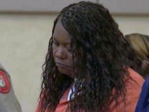 Michelle Denise McClinton makes her first court appearance Aug. 8, 2013, on a charge of first-degree murder. She is accused of killing Darryn Maurice Dye, 45, in Chapel Hill condominium.