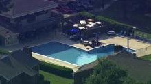 IMAGES: Raleigh child dies after accident at apartment pool