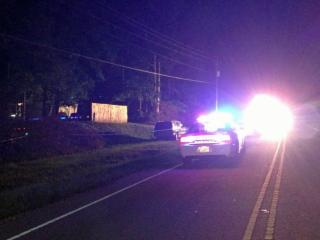 A 32-year-old man and his 13-year-old daughter were taken to the hospital early Wednesday after being shot inside a mobile home in southern Wake County, authorities said.