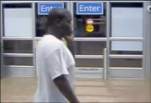 Security video shows a man suspected of stealing from Walmart on U.S. Highway 15-501 at the Chatham-Orange county line.