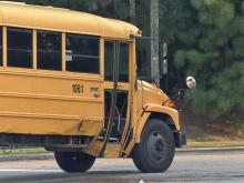 A Wake County school bus taking students to East Millbrook Middle School was involved in a wreck Tuesday morning near the intersection of North New Hope Road and Corporation Parkway, Raleigh police said.