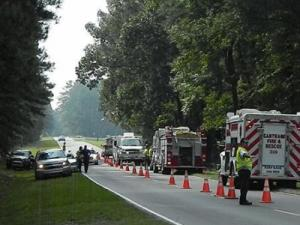 A man died in a fatal car accident Monday morning outside of Carthage.