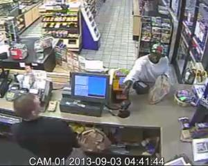 Cumberland County sheriff's detectives are seeking the public's help to identify a man wanted in connection with the armed robbery of a Kangaroo convenience store.