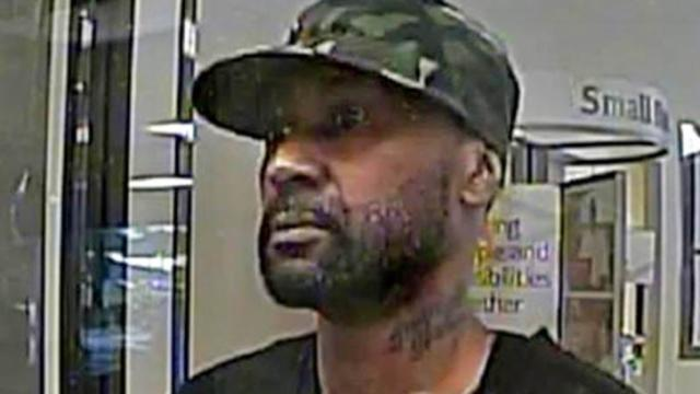 Police were searching for the man who tried to rob a Bank of America branch in north Raleigh on Sept. 6, 2013.