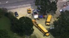 IMAGE: Bus carrying Wendell students crashes in northeast Clayton