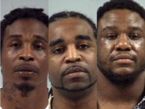 Gregory Devon Obey, 29, and Antwon Quartez Obey, 28, both face first-degree murder charges in the 2011 shooting death of Rashieve DaShawn Ray. Calvin Dwight Mitchell, 27, is charged with accessory after the fact of first-degree murder.
