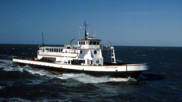 M/V Cedar Island (Photo courtesy of N.C. Department of Transportation)