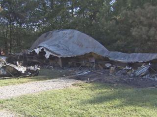 Fire completely destroyed an auxiliary building early Saturday at the Nash County Animal Shelter, investigators said.