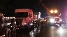 IMAGES: I-95 North near Wilson reopens after tractor-trailer wreck