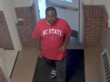 Security video image of NC State peeping suspect